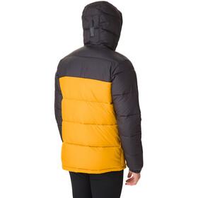 Columbia Pike Lake Hooded Jacket Herren golden yellow/shark